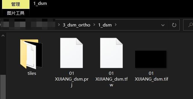 Pix4Dmapper导出TIF